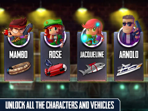 Ramboat: Shooting Offline Game screenshot 9