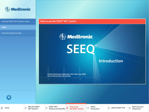 SEEQ MCT Patient Education | Apps | 148Apps
