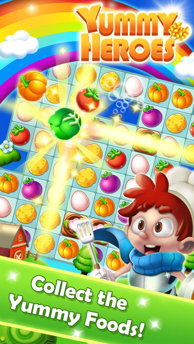 Yummy Heroes screenshot 1