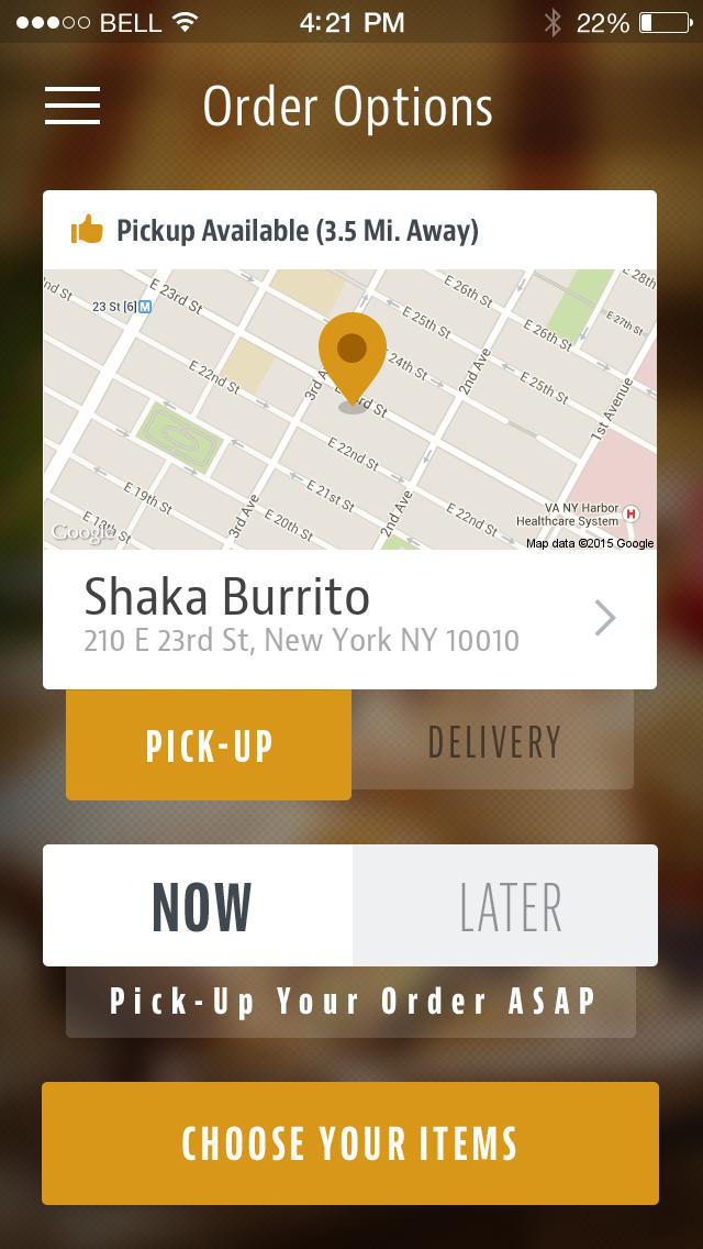 Shaka Burrito screenshot 2