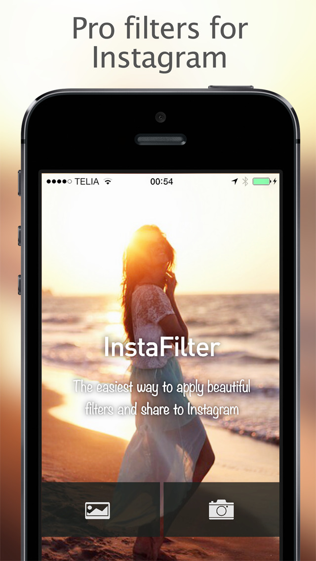 InstaFilter Pro Photo Editor for Instagram screenshot 1