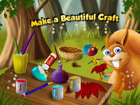 Forest Animals Chores and Cleanup - Arts, Crafts and Care screenshot 8
