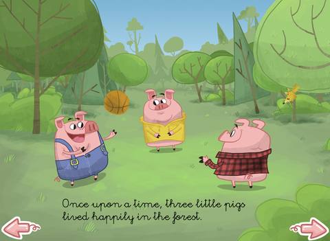 The three little pigs - Multi-Language book screenshot 6