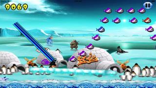 Super Penguin Ice Jump PRO screenshot 1