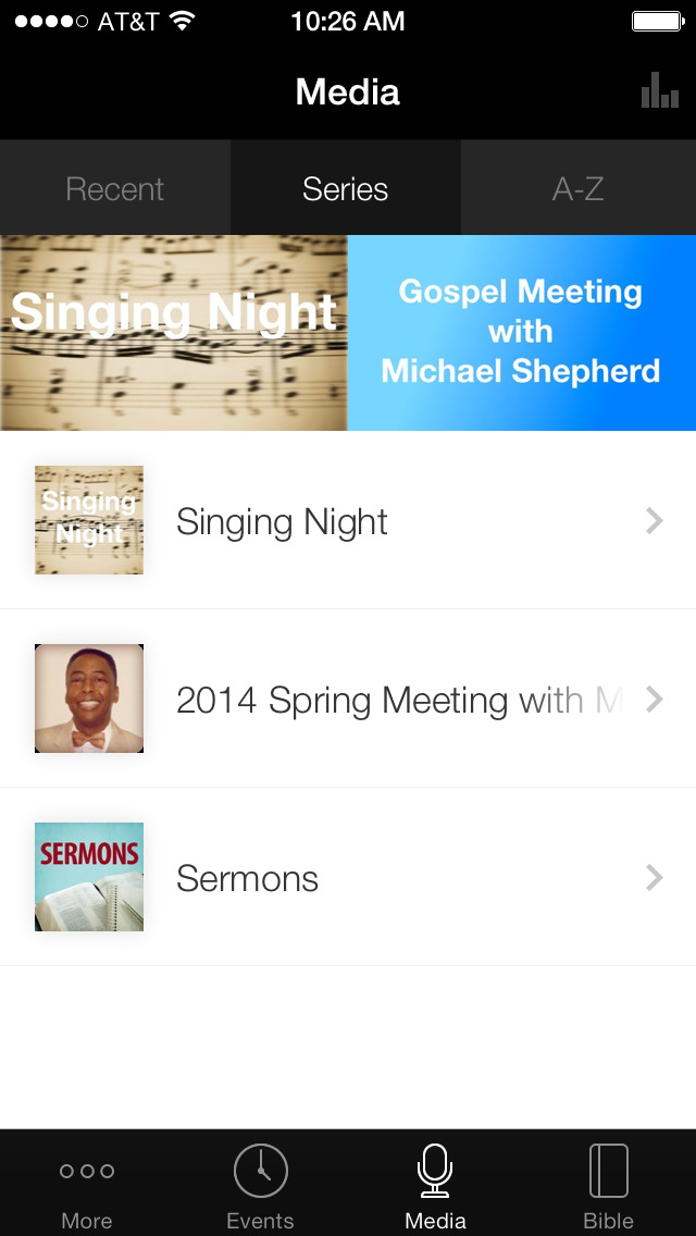 Jacksonville church of Christ screenshot 1