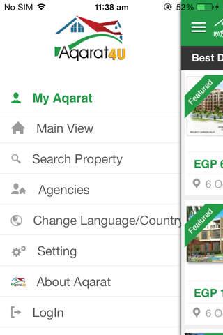 Aqarat4U - náhled