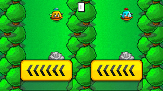 Flappy Downhill Racing - Race 2 Bird At The Same Time screenshot 2