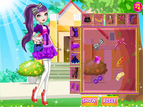 Poppy O'hair Dress Up screenshot 7