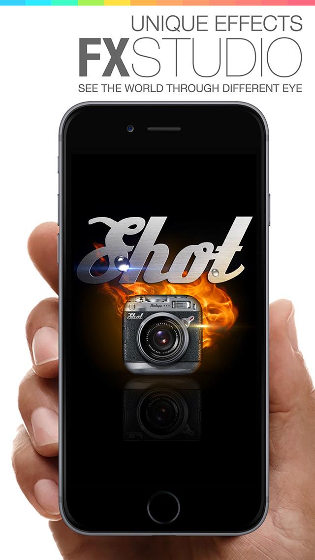 Camera Shot 360 - camera effects & filters plus photo editor screenshot 3