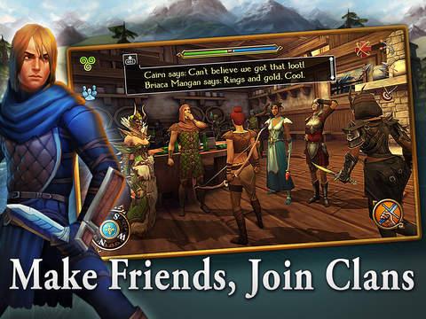 Celtic Heroes 3D MMO screenshot 9