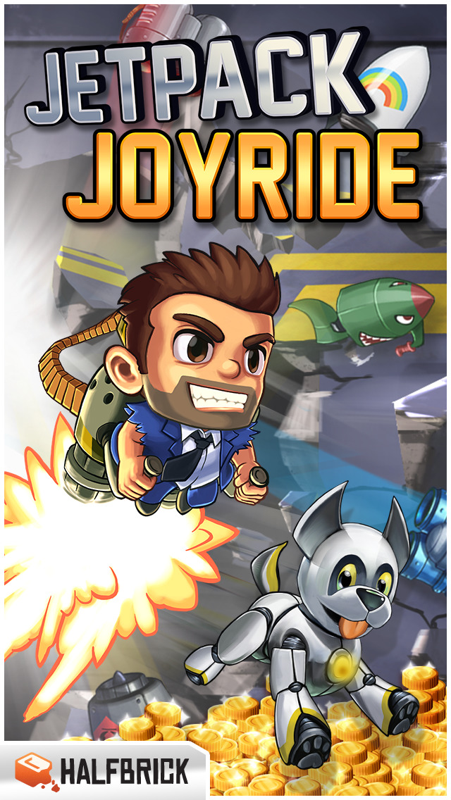 Jetpack Joyride screenshot #1