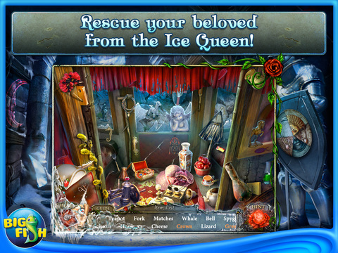 Living Legends: Ice Rose HD - A Hidden Object Game with Hidden Objects screenshot #2
