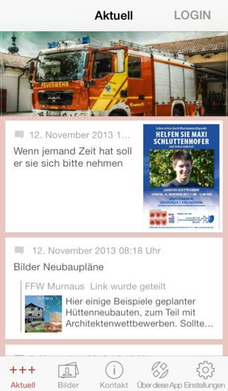 Freiwillige Feuerwehr Murnau screenshot 1