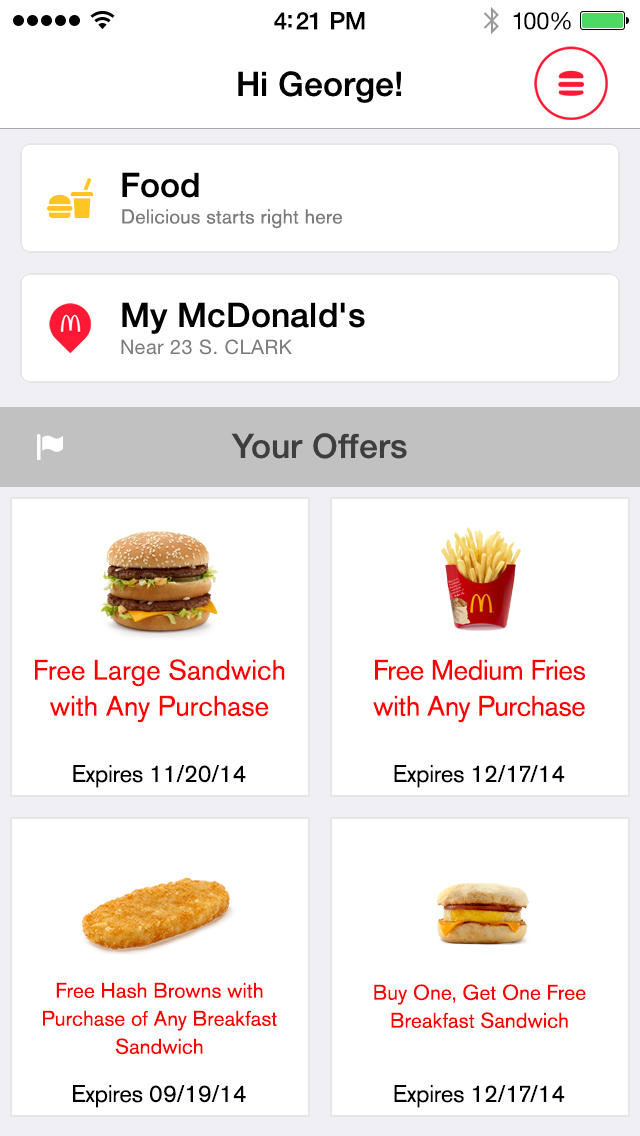 McDonald's screenshot 2