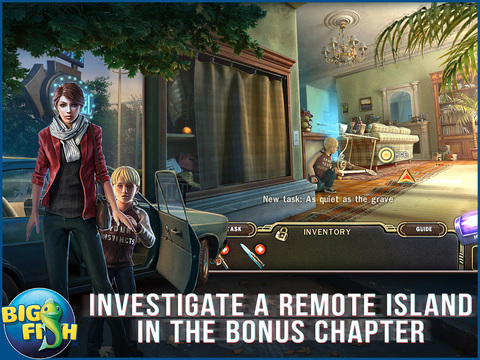 Paranormal Pursuit: The Gifted One HD - A Hidden Object Adventure screenshot 4