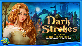 Dark Strokes:  The Legend of the Snow Kingdom – A Hidden Object Mystery screenshot 5