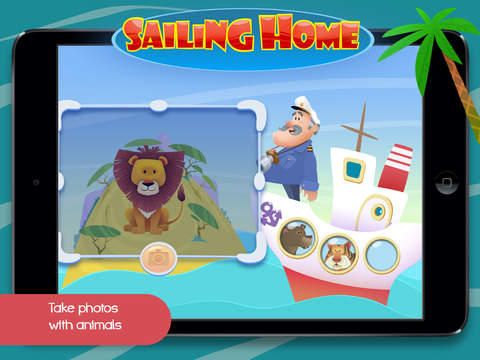 Sailing Home – Learn Animal Habitats. Educational game for preschool kids screenshot 9