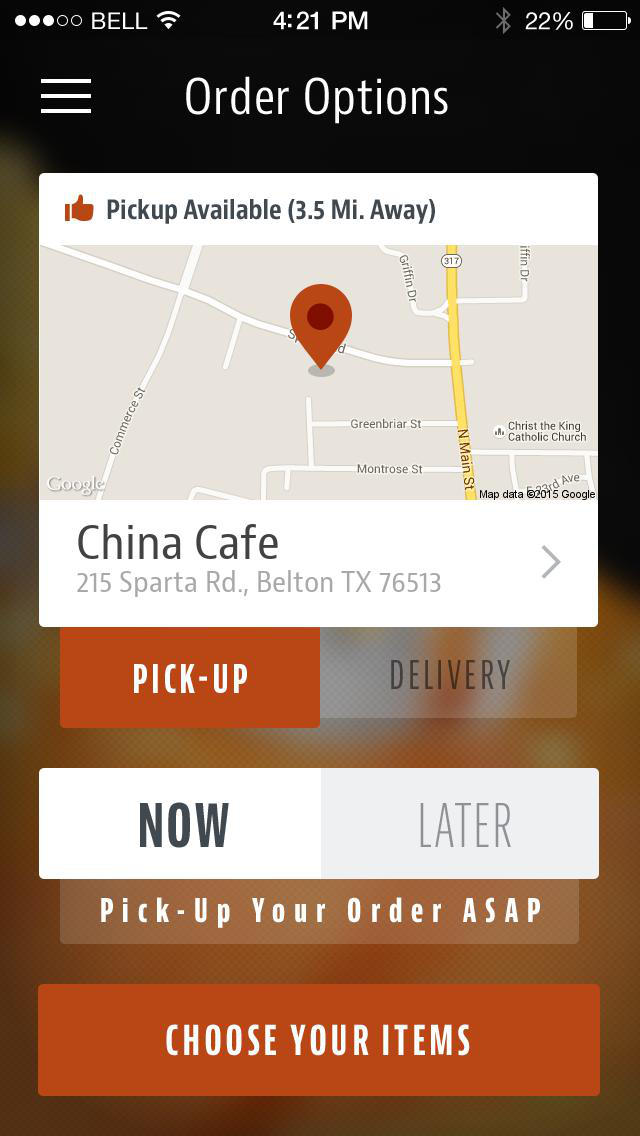 China Cafe Belton screenshot 2