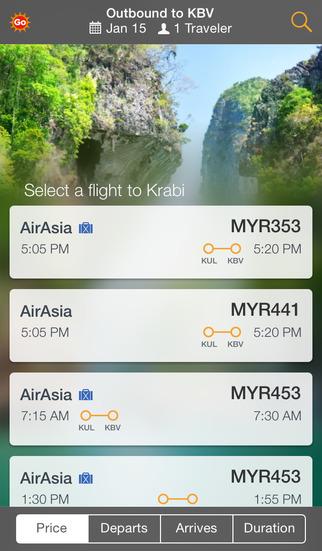 AirAsiaGo screenshot 2