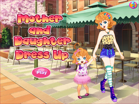 Mother And Daughter Dress Up screenshot 5