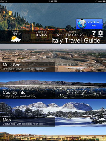 Italian Travel Guide - screenshot 6