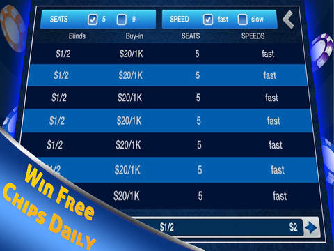 Poker - Texas Holdem HD Poker by BL Games with Poker Tournaments screenshot 8