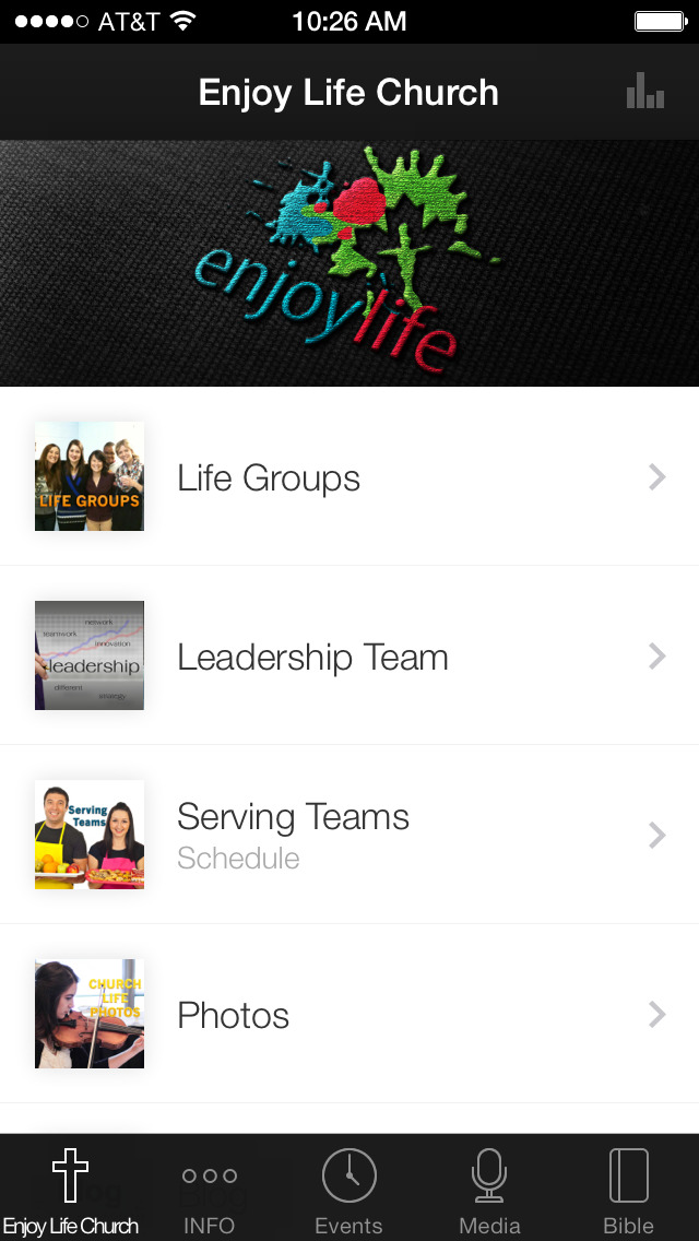 Enjoy Life Church screenshot 1