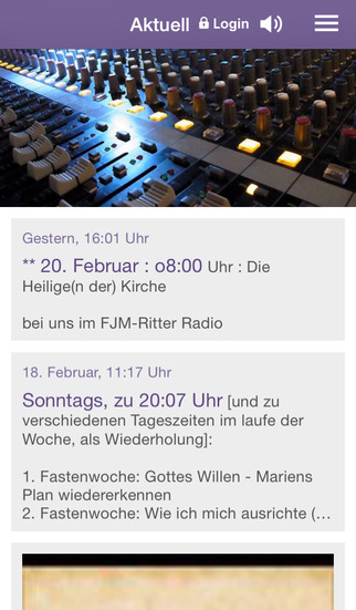 FJM-Ritter Radio screenshot 1