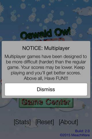 Oswald Owl WINTER Multiplayer - náhled