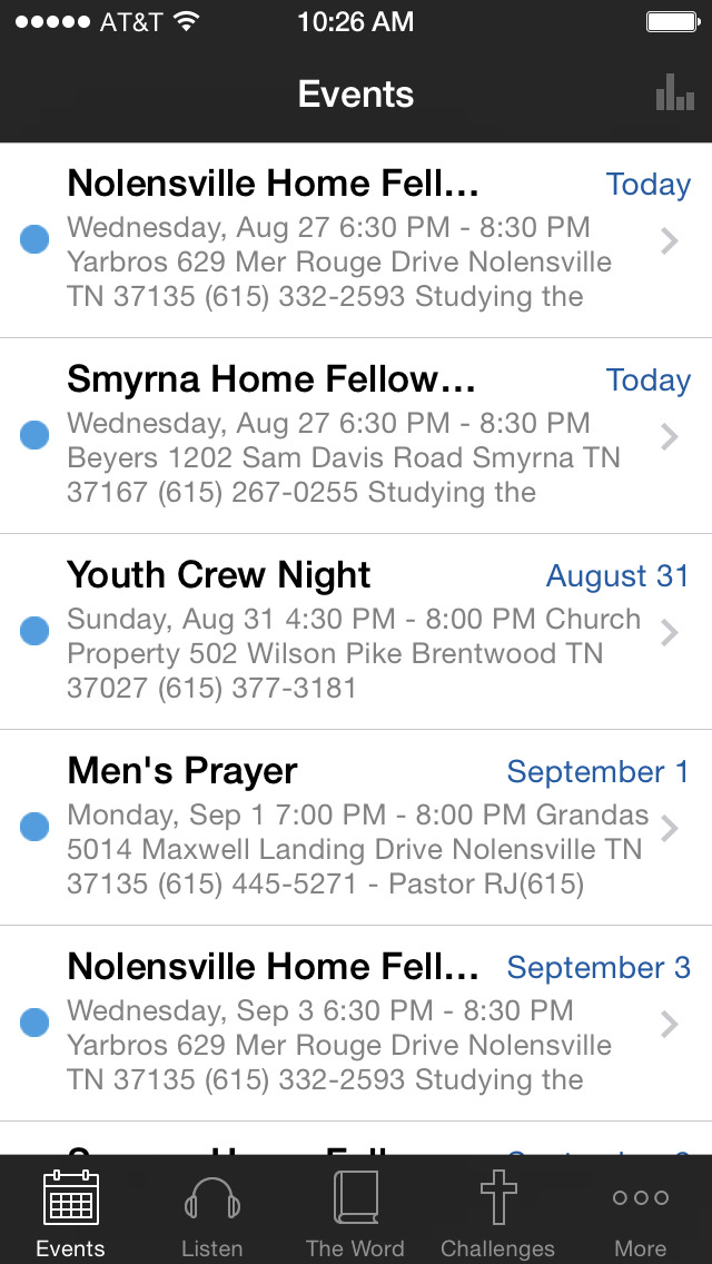 Calvary Chapel Brentwood screenshot 1