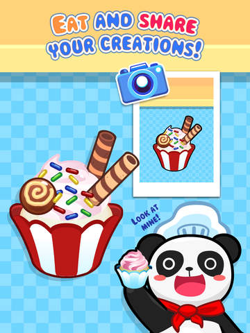 My Cupcake Maker - Create, Decorate and Eat Sweet Cupcakes screenshot #5