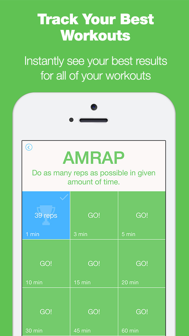 Burpee Counter - The Only Workout Tracker That Tracks Your Reps With Your Microphone! screenshot 3