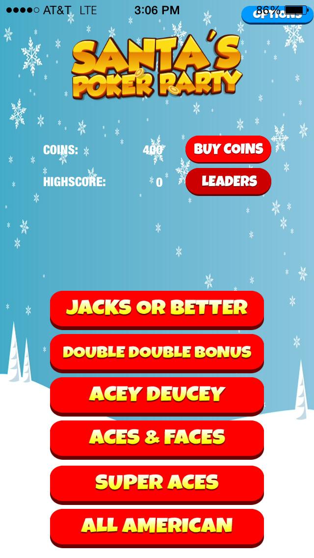 Santa's Poker Party screenshot 3