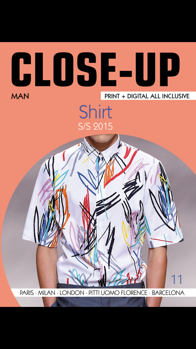 Close-Up Man Shirt screenshot 1