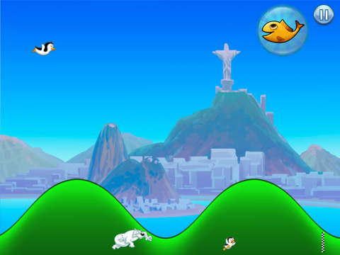 Racing Penguin: Slide and Fly! screenshot 8
