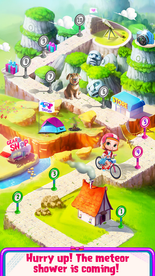 Ride My Bike - Meteor Shower screenshot 4