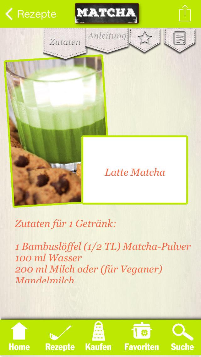 Matcha Rezepte - Trend-Tee für Genießer & vegane Feinschmecker screenshot 3