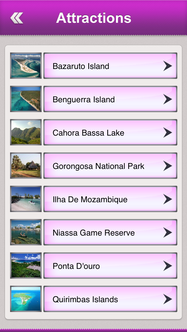 Mozambique Tourism Guide screenshot 3