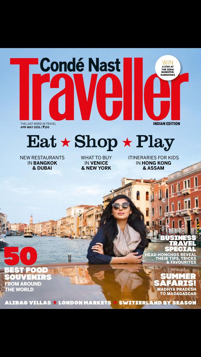 Condé Nast Traveller India screenshot 1