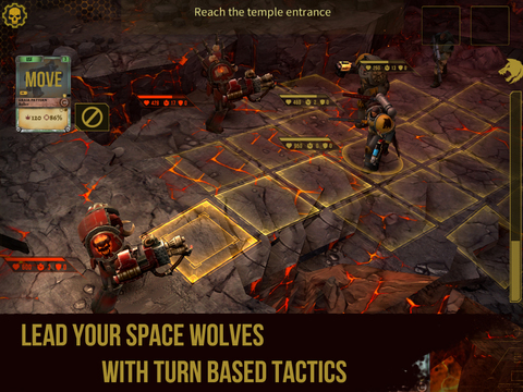 Warhammer 40,000: Space Wolf screenshot 6