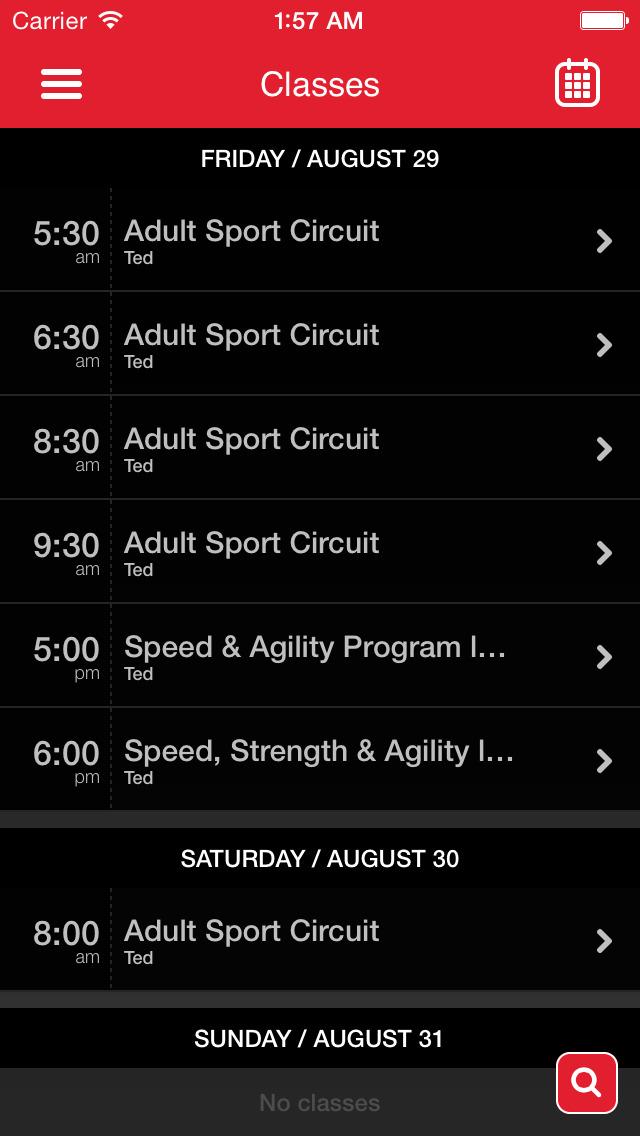 360 Elite Performance Sports screenshot #2