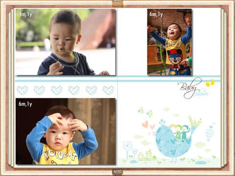 Baby Album for iPad screenshot 5