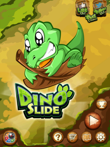 Dino Slide HD screenshot 5