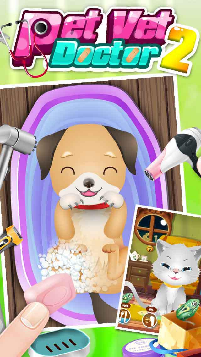 Baby Pet Vet Doctor - kids games screenshot 2