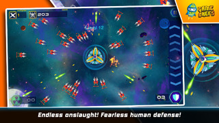 Galaxy Defense Force : The Best Free Space Shooter screenshot 3