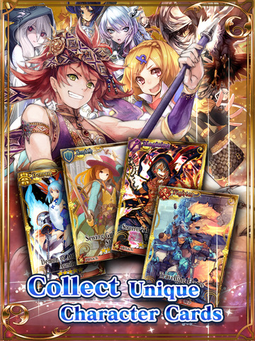 Chain Chronicle - Line Defense RPG screenshot 7