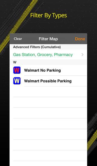 Walmart Overnight Parking screenshot 4