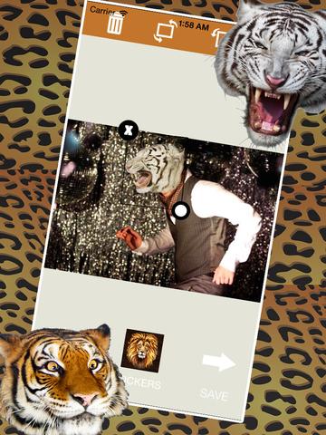 Tiger Sticker Fun screenshot 7