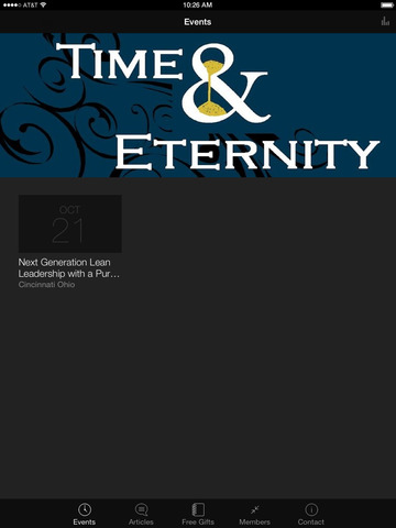 Time and Eternity App screenshot 4