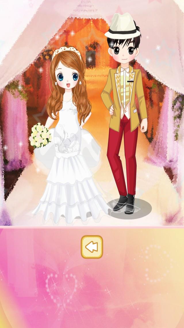 可爱公主新娘装 screenshot 4